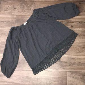Billabong 3/4 sleeve top